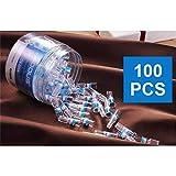 Madlst 100pcs Cigarette Holder filtre Pointe, cigarette filtre jetable, support de cigarette, les tuyaux de tabac Tar support Accessoires