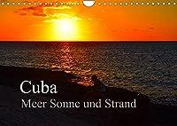 Cuba Meer Sonne und Strand (Wandkalender 2022 DIN A4 quer): 13 Impressionen aus Playa Guardalavaca und Playa Esmeralda (Monatskalender, 14 Seiten )