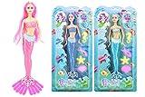 Impresionantes pequeñas muñecas sirena - Princesas con los animales de mar - surtido...