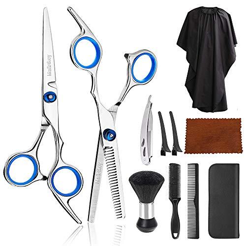 11Pcs Hair Cutting Scissors, Professional Hair Cutting Scissors Set,...