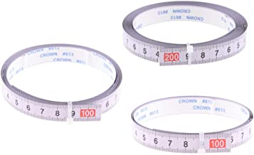perfk 3 Unids/Set Cinta Métrica Adhesiva Profesional Para Sierra Ingletadora Para Sierra Circular Enrutadora