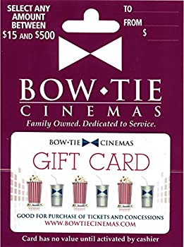 $50 Bow Tie Cinemas Gift Card