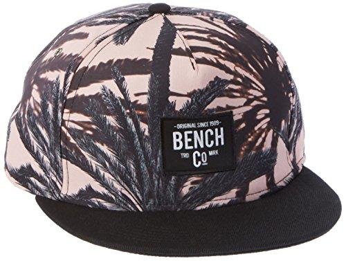 Bench Herren Palm Print Cap Schirmmütze, Schwarz (Black Beauty BK11179), One Size