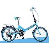 XQ- XQ-TT-613 20 Zoll 6 Geschwindigkeit Faltbare Fahrrad Dämpfung Bike