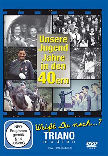 Unsere Jugend-Jahre in den 40ern: Teenager- und Twen-Chronik - junges Leben in Deutschland in den 1940er Jahren