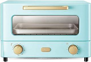 KAUTO Mini Four 12L, cuisinière électrique et Gril Cuisson Maison Petit Four minuterie Double Porte en Verre Haut et Bas 1...