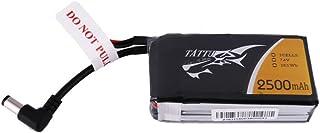 tattu 2500mAh 2S 7.4V Lipo batería de recambio con dc3.5mm Conector para Fats Hark–Goggles , color/modelo surtido