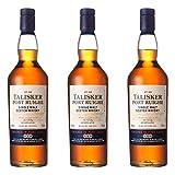 Talisker Port Ruighe 681145 - Botella de Whisky (3 Unidades, 45,8%, 700 ml)