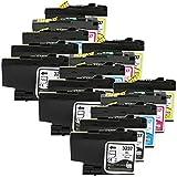 Printing Saver LC3237 NERO (6) CIANO (3) MAGENTA (3) GIALLO (3) cartucce d'inchiostro compatibili per BROTHER HL-J6000DW, HL-J6100DW, MFC-J5949DW, MFC-J6945DW, MFC-J6947DW