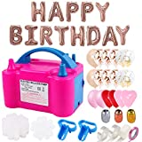 Best Balloon Set With Pumps - Balloon Pump,132 PCS Electric Balloon Blower 110V 600W Review