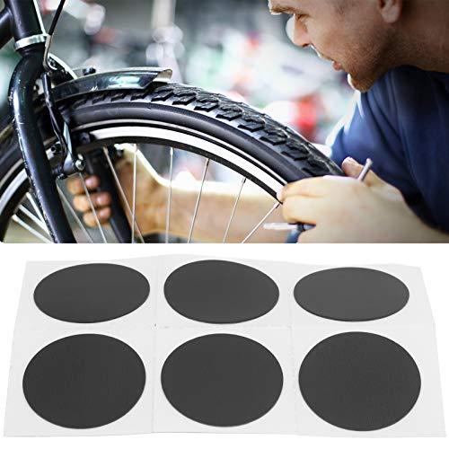 Meiyya Parche para cámara de Aire, Kit de reparación de neumáticos de 24 mm / 0,9 Pulgadas para talleres de reparación