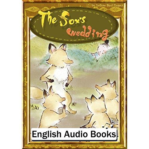 『The fox's wedding(きつねの嫁入り・英語版)』のカバーアート