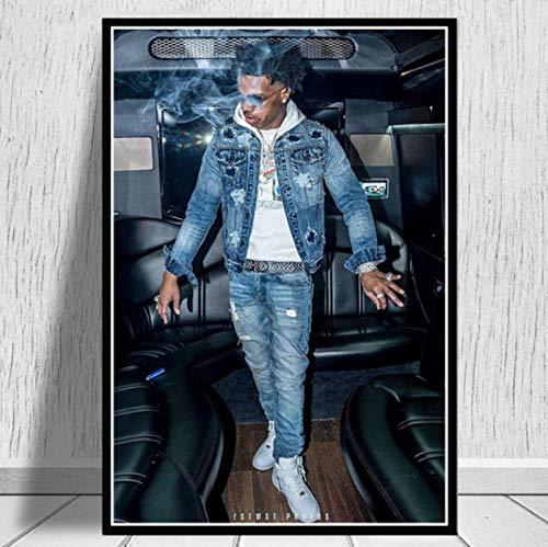 Impresiones De Carteles Lil Baby & Gunna Drip Hip Hop Rap Música Cantante Estrella Pared Arte Lienzo Pintura Sala De Estar Decoración del Hogar 50X70Cm -Gl848
