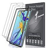 LK [3 Pack Pellicola Protettiva per Huawei P30, Protezione Schermo Vetro Temperato [HD Chiaro]...