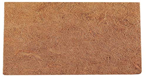 TropicShop Rückwand aus Natur Kokos/Kokosfaserrückwand für Terrarien | Kokos Matte (ca. 50x100cm)