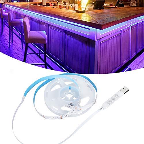 Tira de luz, luces de tira llevadas Fuente de alimentación USB Luminescenc uniforme para decoración