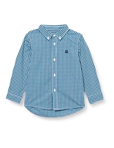 United Colors of Benetton (Z6ERJ Camicia 5DU65QG40 Camisa, Multicolore 91t, 2 Años para Bebés