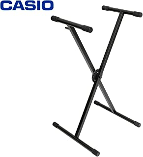 Casio Single Braced Pro Keyboard Stand, Black, (KBST35)