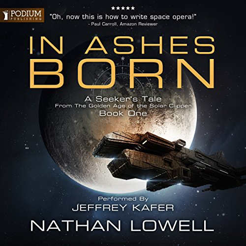 In Ashes Born audiobook cover art