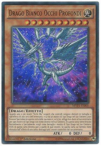 Yu Gi Oh - Drago Bianco Occhi Profondi - Deep-Eyes White Dragon- 1° Edizione - Rara Ultra - MVP1-IT005