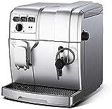 COOLSHOPY Cafetera automática de la Bomba de Alta 19BAR Extracción de presión Totalmente automático Grueso de tóner 5 Engranaje de Ajuste 1300W de Alta Potencia
