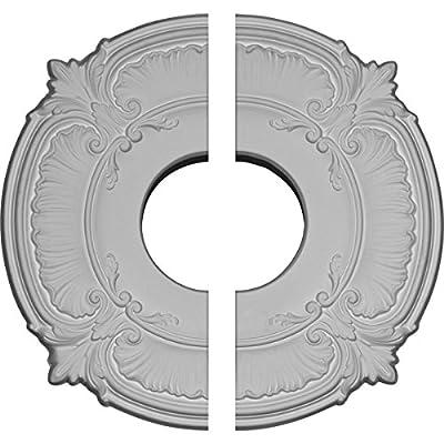 Ekena Millwork 11 3/4-Inch OD x 4-Inch ID x 1/2-Inch Attica Ceiling Medallion