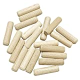 kicoriya 木ダボ 10☓40mm 20個 木工ダボ 木 ダボ 家具 つなぎ ジョイント ジッパー袋入り