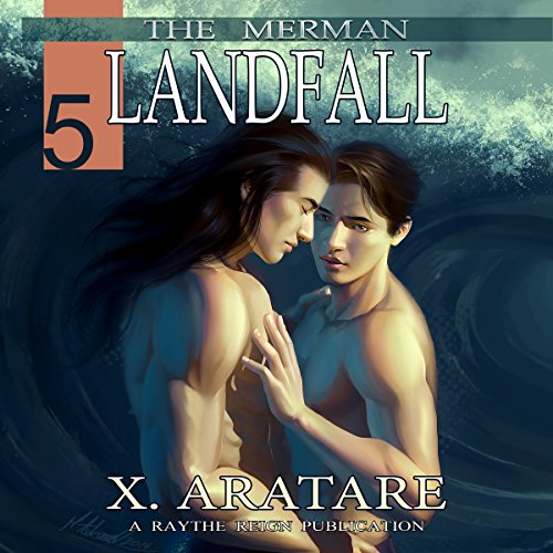 Landfall (M/M, Gay Merman Romance) audiobook cover art