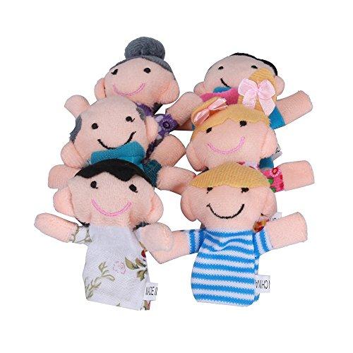 Marioneta, K-youth® 6 PCS Marionetas Dedo Familiares