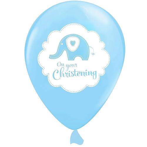 ddff535bbd16 Balloons Party Christening Boy  Amazon.co.uk