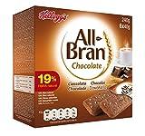 Kellogg's All-Bran Chocolate Barritas - Paquetes de 6 x 40 g - Total: 240 g