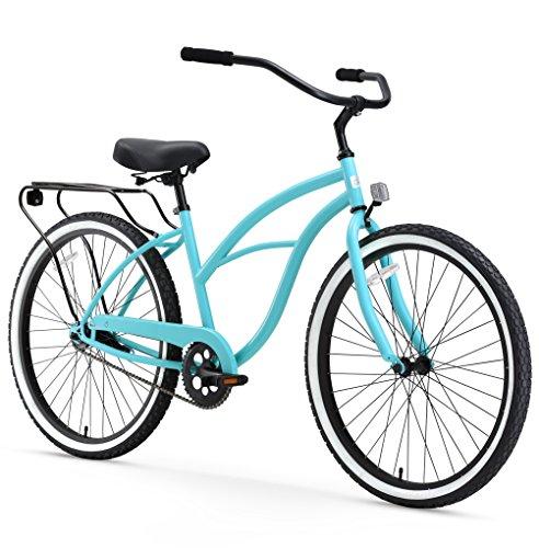 sixthreezero Around The Block Women's Single-Speed Beach Cruiser Bicycle, 26