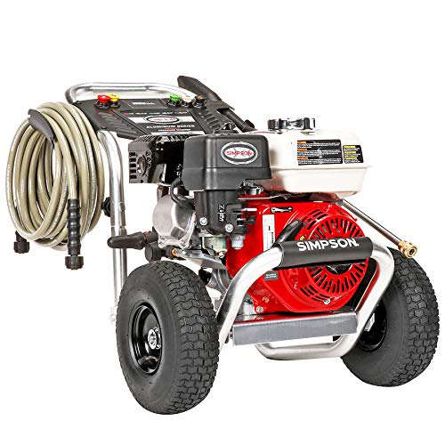 SIMPSON Cleaning ALH3425 Aluminum Gas Pressure Washer Powered by Honda GX200, 3600 PSI @ 2.5 GPM