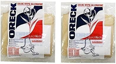 Oreck Commercial ET511PK Electriteck Bags (2 Packs of 5 = 10 Total Bags)