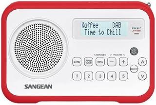 Sangean DPR-67 White/Red