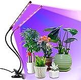 Pflanzenlicht 18W 36LED, Lovebay【Neueste Version 2019 - Automatische Zeitschaltuhr】3 Timer 4H/8H/12H, LED VOLLSPEKTRUM Pflanzenlampe, Dimmbar 8...