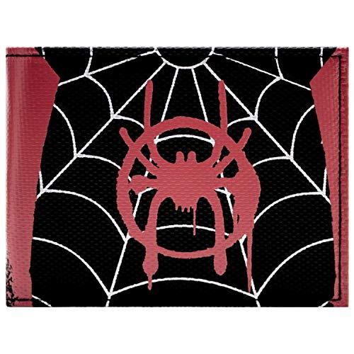 New Generation Spider-Man Miles Miles Style de Costume Portefeuille Noir