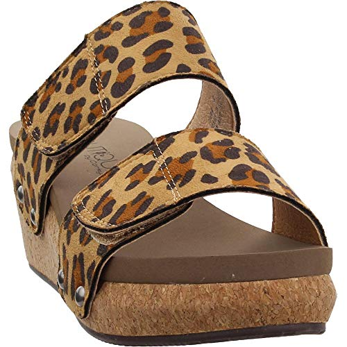 Corkys Womens Shaw Casual Wedges Shoes, Brown, 9