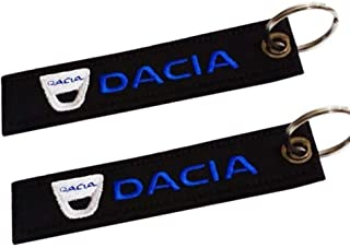 Dacia doppelseitiger Schlüsselanhänger (1 Stück)