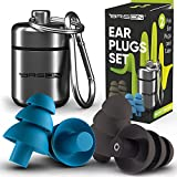 Noise Cancelling Ear Plugs for Sleeping - Reusable Safe Silicone Earplugs Musicians Hearing...