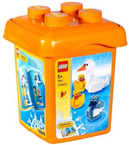LEGO 7870 Cubo de Piezas Edición Especial Hans Christian Andersen