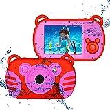 CamKing Cámara Digital Infantil Cámara Digital Video para Niños con 8MP FHD 1080P Mini...