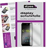 dipos I 2X Schutzfolie klar kompatibel mit Cyrus CS40 Folie Bildschirmschutzfolie