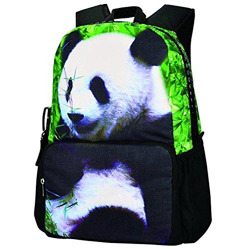 Bistar Galaxy Unique Animal design School Bookbag per ragazza stampa animalier moda zaino Zaino con molte tasche.