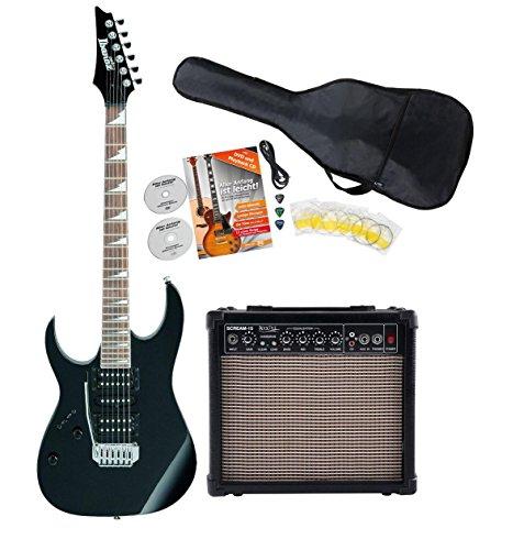 Ibanez GRG170DXL-BKN E-Gitarre Lefthand Starter SET