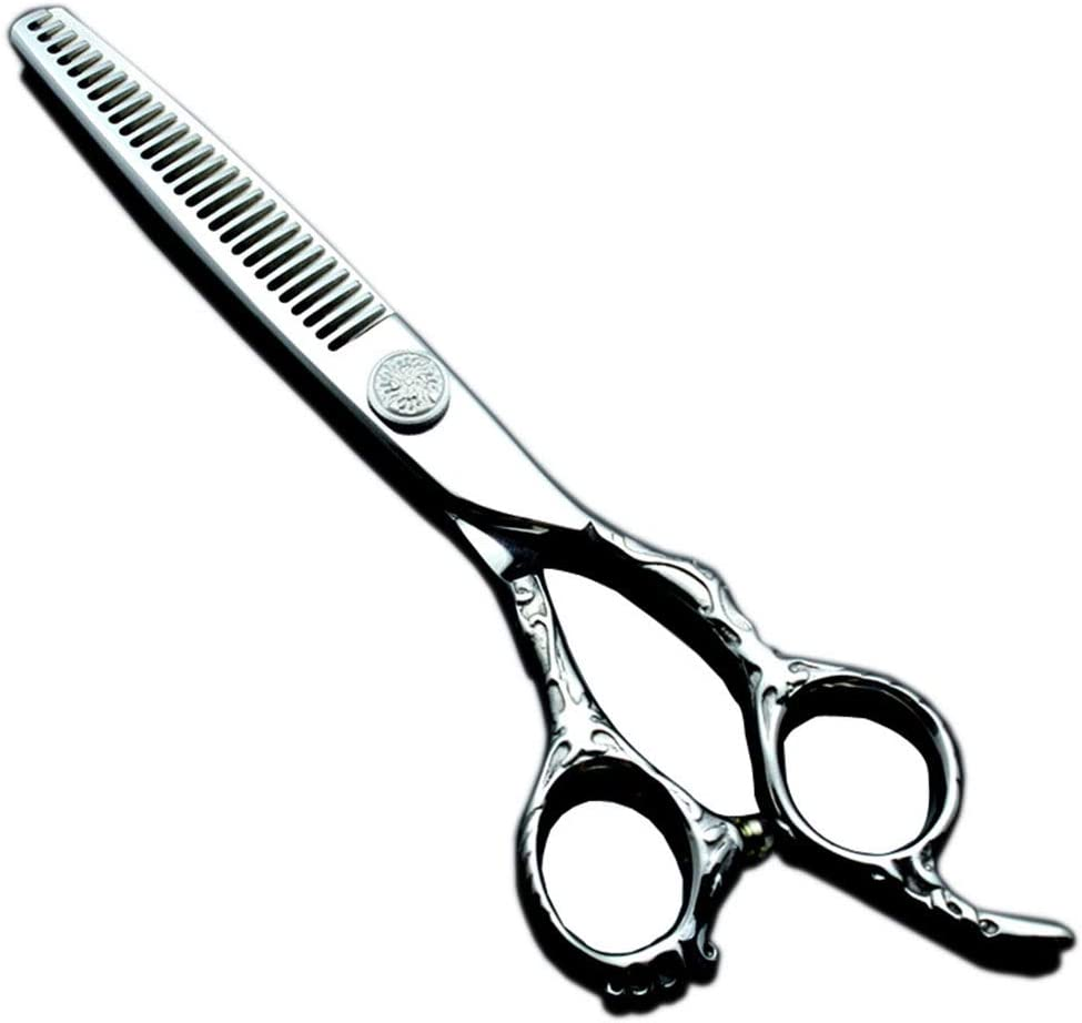 Hair Cutting Scissors 6.0-inch High-end Discount is also Animer and price revision underway Flower Shea Tooth Handle