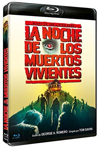 La Noche de los Muertos Vivientes DVD 1990 Night of the Living Dead [Blu-ray]