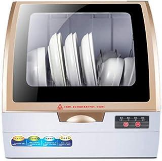 YPJKHM Lavavajillas Hogar Inteligente Limpieza automática Instalación integrada de una Sola máquina Cepillo Tazón Máquina