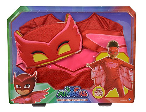 Simba 109402095 PJ Masks-Kostüm Eulette, 104-122