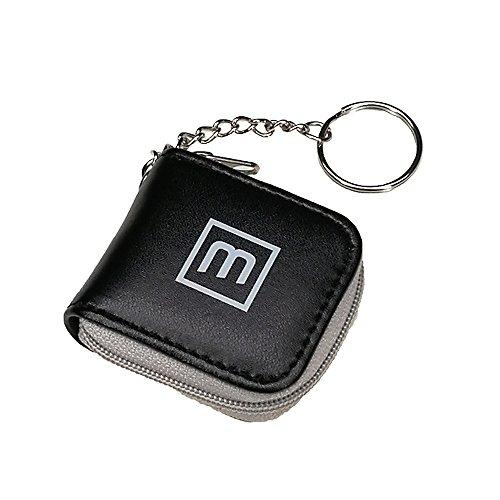 Linda multi mini memoria destello portátil pequeña tarjeta de bolsillo bolsa caso de almacenamiento Micro SD LLavero titular de Nano SIM con cremallera